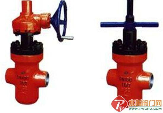 【水暖阀门网讯】高压带导流孔平板闸阀产品图片