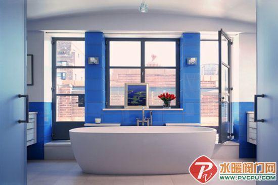 活力激情的色彩 16精致卫浴装修设计