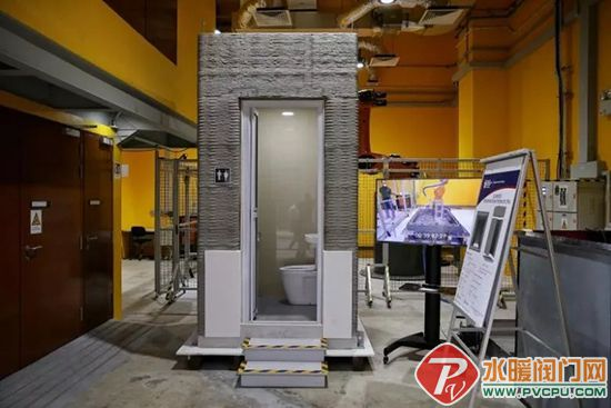 全球首个3D打印浴室出炉,造价为传统浴室的一半