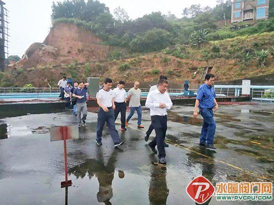 南安市委常委、政法委书记张瑞平带队到仑苍镇督导生态环境保护工作