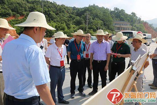 南安市人大常委会主任洪顺昌带队到茂盛路仑苍段视察项目建设情况