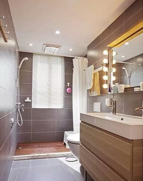 卫生间干湿分区设计,让卫浴保持干燥卫生