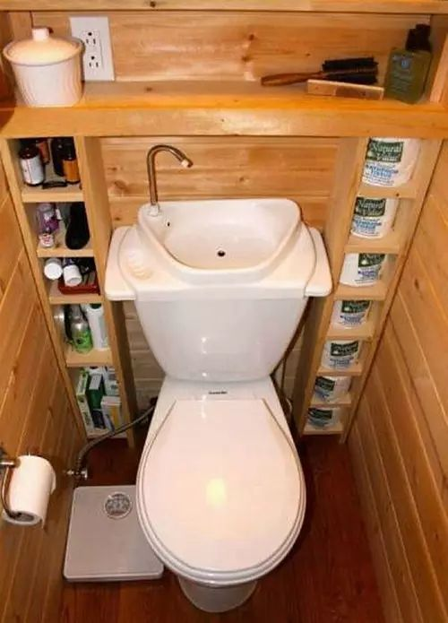 超节约水的马桶设计!